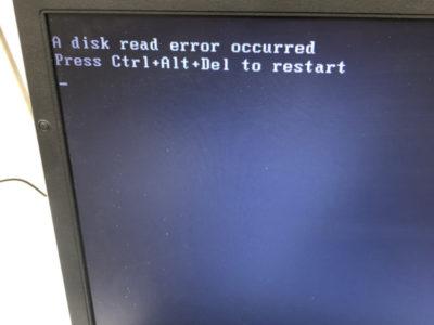 パソコン一台復活の話